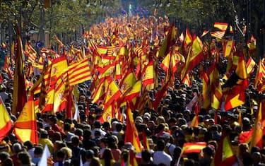 1Manifestazione_unionisti_Barcellona_GettyImages