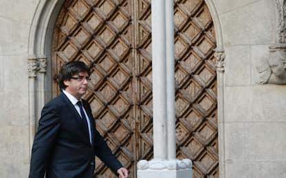 """Catalogna, Puigdemont incriminato va in Belgio """"per chiedere asilo"""""""