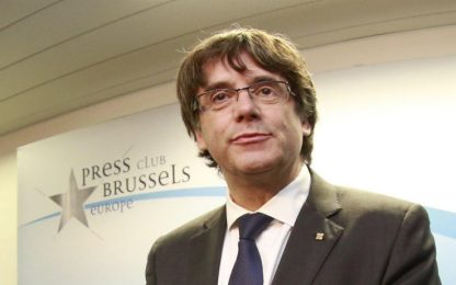 Libertà condizionata a Puigdemont e ai 4 ministri catalani