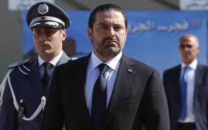 Libano, si dimette il premier Saad Hariri