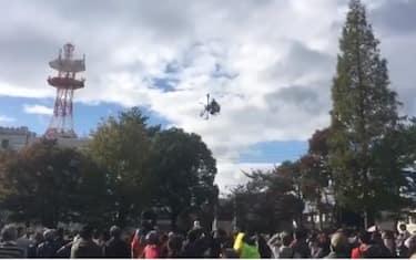 giappone-drone-cade-feriti