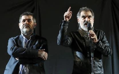 Catalogna, confermato l'arresto per i due leader indipendentisti