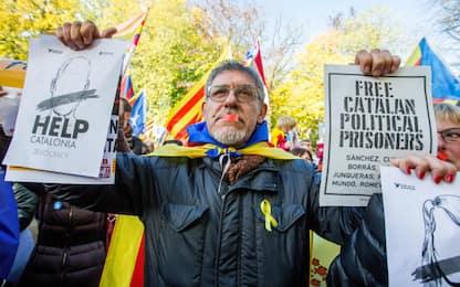 Bruxelles, corteo per catalani arrestati