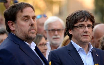 """Catalogna, Junqueras: """"Puigdemont è il nostro candidato"""""""