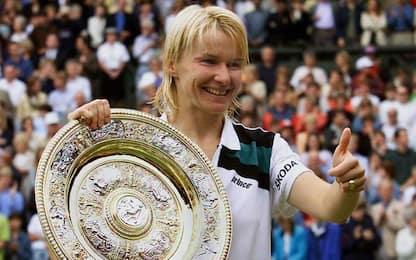 Lutto nel mondo del tennis, è morta Jana Novotna