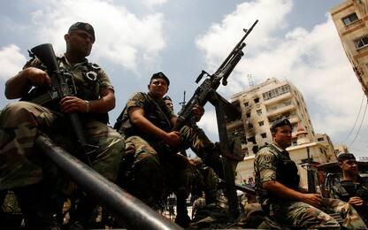 Libano, esercito in stato di allerta al confine con Israele