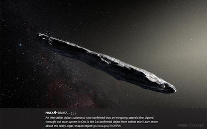 Oumuamua potrebbe essere il frammento di un esopianeta