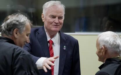 Ratko Mladic condannato all'ergastolo per il genocidio in Bosnia