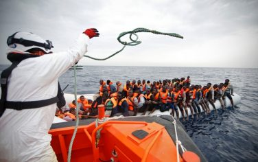 migranti-lapresse