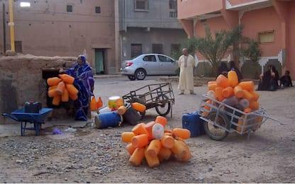 Marocco, a causa della siccità manca l'acqua potabile