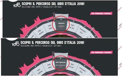 Giro d'Italia, Israele: no a scritta Gerusalemme Ovest. Sito corregge