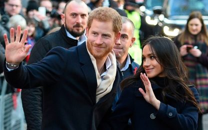 Harry e Meghan a Nottingham