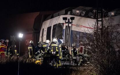 Scontro tra treni in Germania