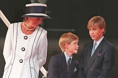 William e Harry hanno scelto lo scultore per la statua di Diana