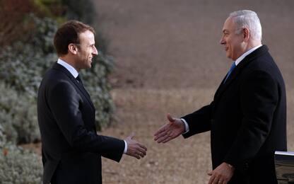 Gerusalemme capitale, gelo Macron-Netanyahu. Previsto vertice al Cairo