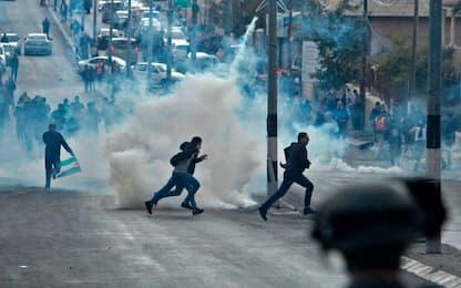 Gerusalemme capitale, ancora scontri: quattro palestinesi morti