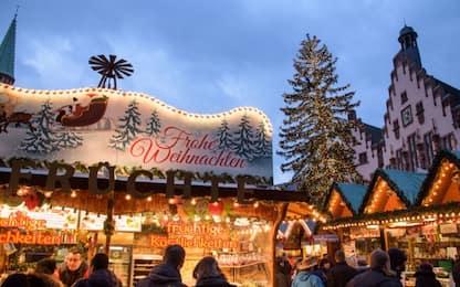Francoforte, falso allarme bomba al mercatino di Natale