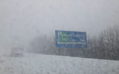 Neve record in Pennsylvania: il video in timelapse