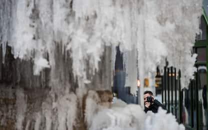 Ondata di gelo e neve negli Usa