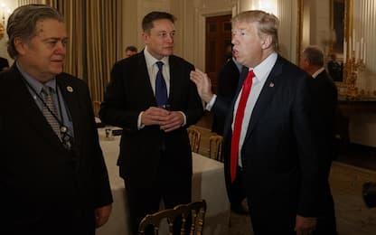Trump: stop alla pubblicazione del libro con rivelazioni di Bannon