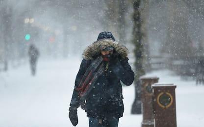 """""""Ciclone bomba"""" negli Usa, temperature potrebbero scendere a -20 gradi"""