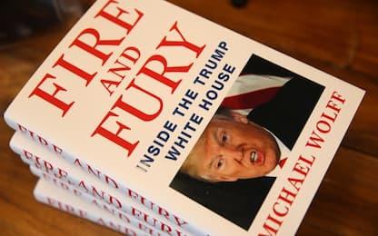 """Trump contro libro Wolff: """"Un'opera di fiction, mai incontrato autore"""""""