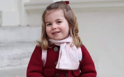 Regno Unito, primo giorno di scuola per la principessa Charlotte