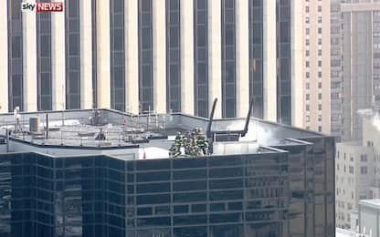 Trump Tower, fiamme sul tetto: due feriti a New York