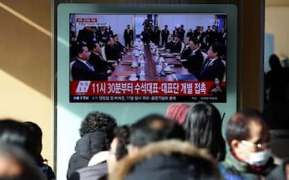 """Dialogo Coree: riaprirà """"zona rossa"""". Delegazione del Nord a Olimpiadi"""