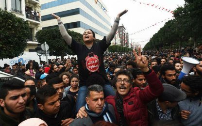 Tunisia, proteste contro il carovita