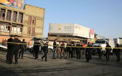 Baghdad, doppio attentato suicida: è strage di lavoratori giornalieri