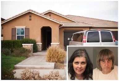 California, tenevano incatenati in casa i 13 figli: arrestati genitori