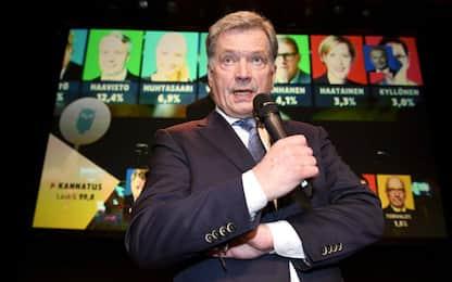 Finlandia, Sauli Niinistö rieletto presidente al primo turno
