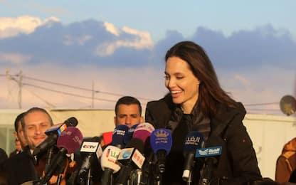 Angelina Jolie visita in Giordania
