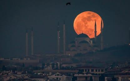 Superluna, spettacolo in tutto il mondo
