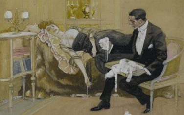 Dudovich_Il_corredo_del_bambino_1915-18