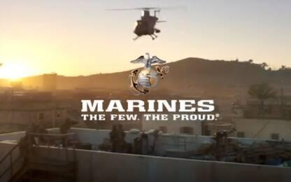 Super Bowl, lo spot dei marines a caccia di reclute