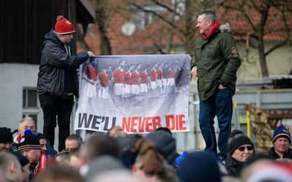 Manchester ricorda la tragedia di Monaco