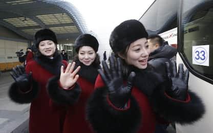 Olimpiadi, delegazione nordcoreana a Sud