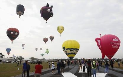 Festa delle mongolfiere nelle Filippine