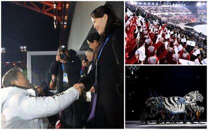 Olimpiadi invernali, stretta mano Coree