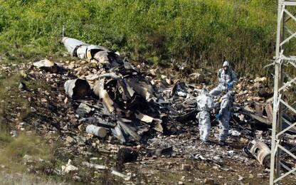 Tensione nei cieli, aereo militare israeliano abbattuto da siriani