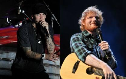 """Eminem con Ed Sheeran nel video di """"River"""""""