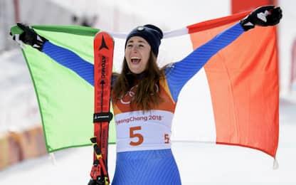 Giochi invernali, Sofia Goggia oro