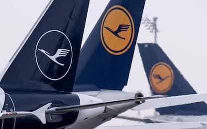 Sciopero Lufthansa, 1.300 voli cancellati in due giorni. VIDEO