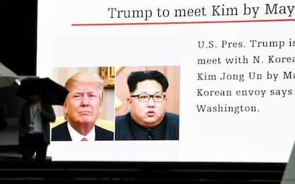 Incontro Kim-Trump entro maggio. Ma Casa Bianca avverte: prima i fatti