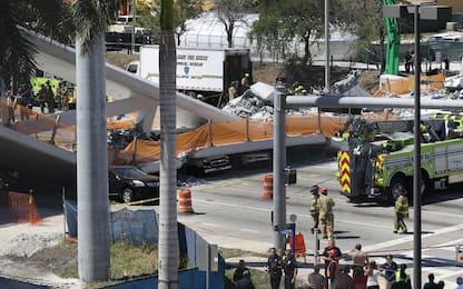 Miami, ponte crolla su superstrada: 6 morti e 10 persone ricoverate