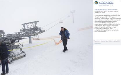 Georgia, seggiovia impazzita: otto sciatori feriti nell'incidente
