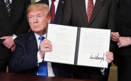 Trump: stop a dazi con Ue. Sanzioni per 60 miliardi contro Cina