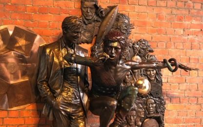 David Bowie, svelata la prima statua dedicata al Duca Bianco